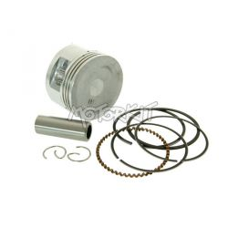 Piston kit 47 mm for 70cc GY6 Peugeot V-Clic, Kymco Agility, Baotian, Beeline, TNT Roma