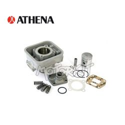 cylinder kit Aprilia AF1 - Red rose - Minarelli 70 cc - 43.50 mm diam by Athena
