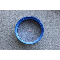 "Honda Cub alloy rim 17 x 1,85"" in blue. By Kepspeed"