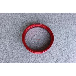 "Honda Cub alloy rim 17 x 1,85"" in red. By Kepspeed"