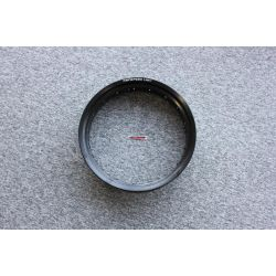 "Honda Cub alloy rim Wide 17 x 5"" in black. By Kepspeed"