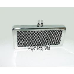 ZongShen oil cooler chrome