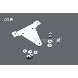 license plate holder support cyclo (belgian) for Honda Dax ST CT 6V - OT. By Opus