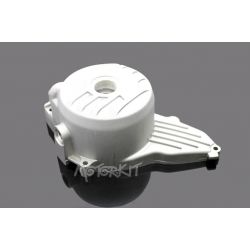 Silver ignition cover for Zongshen 190 and Daytona Anima with electric starter