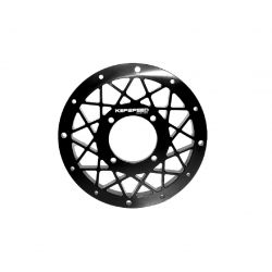 Wheel plate black Kepspeed for 10 inch