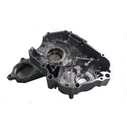 Left crankcase for Honda Astrea - Astra 100 cc (model with electric starter)