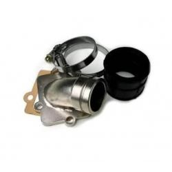 Pipe d'admission Piaggio Gilera pour carburateur PWK pour Zip Runner Typhoon NRG NTT..
