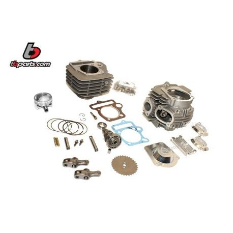 Cylinder and head 57 mm kit for Lifan engine - skyteam 125 cc