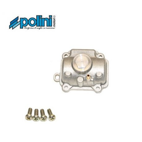 Polini CP Evo racing carburetor tank with quick access to the main jet