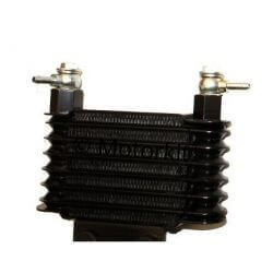 ZongShen black universal oil cooler with banjos