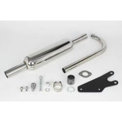 Takegawa P-SHOOTER exhaust for Honda Monkey 125 cc.