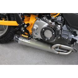 Exhaust Tyga Under-Belly with long silencer for Honda Monkey 125cc JB02 2018-