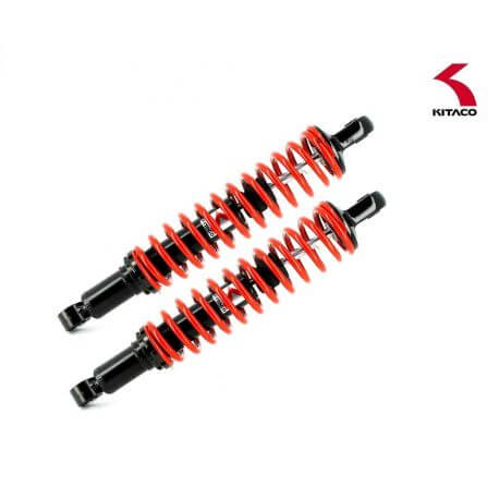 Kitaco Adjustable Hydraulic Shock Absorber set for Honda Monkey 125 - Red