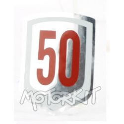 Front fork Cover Decal - Sticker for Amigo - PC50