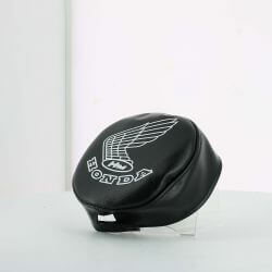 Minimoto headlight cover with Honda print