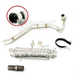 Exhaust Up - stainless steel for Honda Dax ST CT and Skyteam City E marked