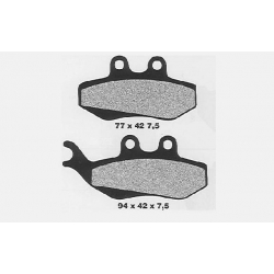 Front Brake pads Aprilia RS from 1999 to 2005 / TZR - DTR from 2004