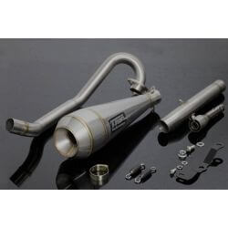 Tyga Up exhaust Maggot stainless silencer for Honda Monkey 125 (JB02)