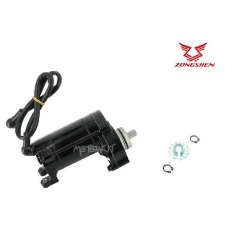 Black electric start motor for Anima and ZongShen 190cc