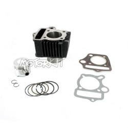 Lifan 70cc cylinder - piston - gasket kit - 47mm