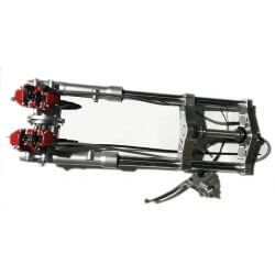 Hydraulic fork - dual disc brakes for Dax ST CT and Skyteam - Skymax