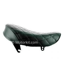 Seat Monkey Kepspeed large diamond black with black piping