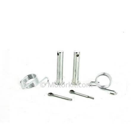 """CNC """"Grenade"""" front foot pegs for Dax Monkey Cub Skyteam - various colors"""