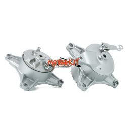 Pair of hubs with drum brake for Honda Dax CT ST 50 - 70 cc and Jincheng - Skyteam OM