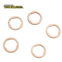 Takegawa gearbox washers 17mm (5pcs)