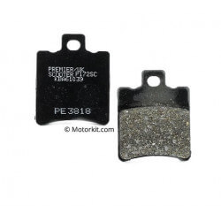 Premier kevlar front brake pads for MBK Nitro Booster - Yamaha Aerox Bw's