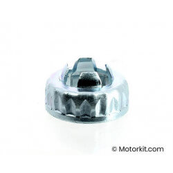 Wheel nut cover and lock M16 Piaggio Gilera Vespa 50 125 250 cc