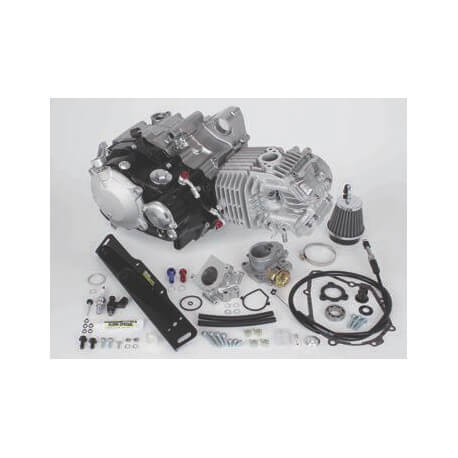 MSX SF GROM Takegawa engine 181ccc 4-valve 5-speed engine and racing wet clutch.