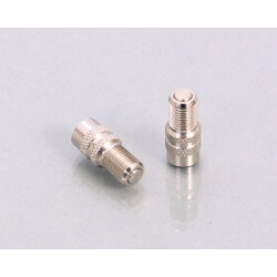 Quick-fit valve fittings for Kitaco 'invisible' valve