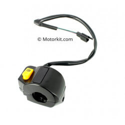 Handelbar switch Peugeot Speedfight 3 - Kisbee - Vivacity 3 - right - without headlight
