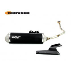 4Scoot exhaust for Kymco agility Super8 Dink - Peugeot V-Clic - Baotian GY6