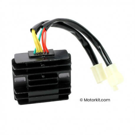 Voltage regulator for Dax Skyteam Zhenhua Euro 4 injection 50 and 125cc - without diode