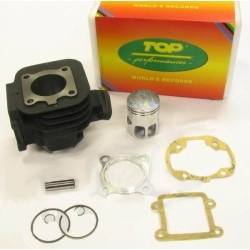 Top Performances 50 cc cylinder + piston for Booster - Bw's - Stunt - Slider - cast iron with Asso piston