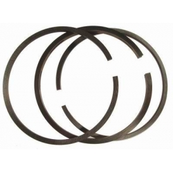 Piston ring Airsal 47.6 x 1.00 mm T6 for 75 cc kit  Airsal Minarelli, Peugeot, Piaggio, CPI