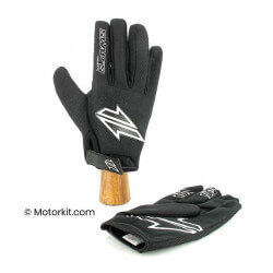 Off road gloves - black - EC approved