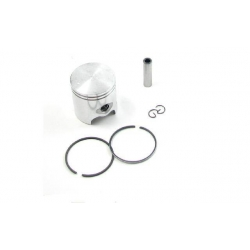 Piston kit Polini Diameter 47 mm for cast iron 70cc kit Peugeot and Piaggio