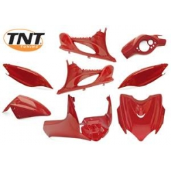 Bodywork kit - Fairing set Yamaha Jog R / MBK Mach G red scuderia