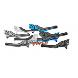 brake lever Nitro / Aerox standard silver, blue, red, gold or carbon look - price for one piece