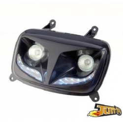 Headlight R8 black Booster / Bws from 2004 Tun'R Style