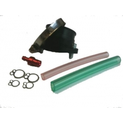 Rubber intake pipe for carburetor FCR28