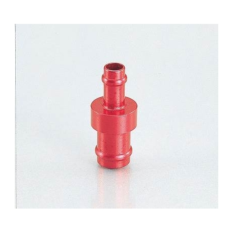 Fuel hose adaptator 6mm to 8mm by Kitaco. Red or blue