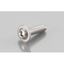 Button Head Cap Bolts with flange Stainless M6 P 1.0