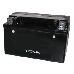 Batterie à acide YTX7A-BS / CTX7A-BS 12V 6A/h 151x87x93mm