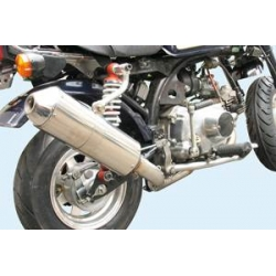 Kitaco down stainless exhaust for Honda Dax ST CT Monkey and Skyteam