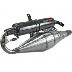 Stage 6 Pro Réplica exhaust for Booster Bw's Stunt Slider varnished / black