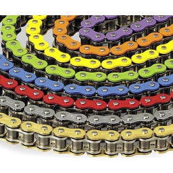 Chain yellow / chrome 420 - 134L